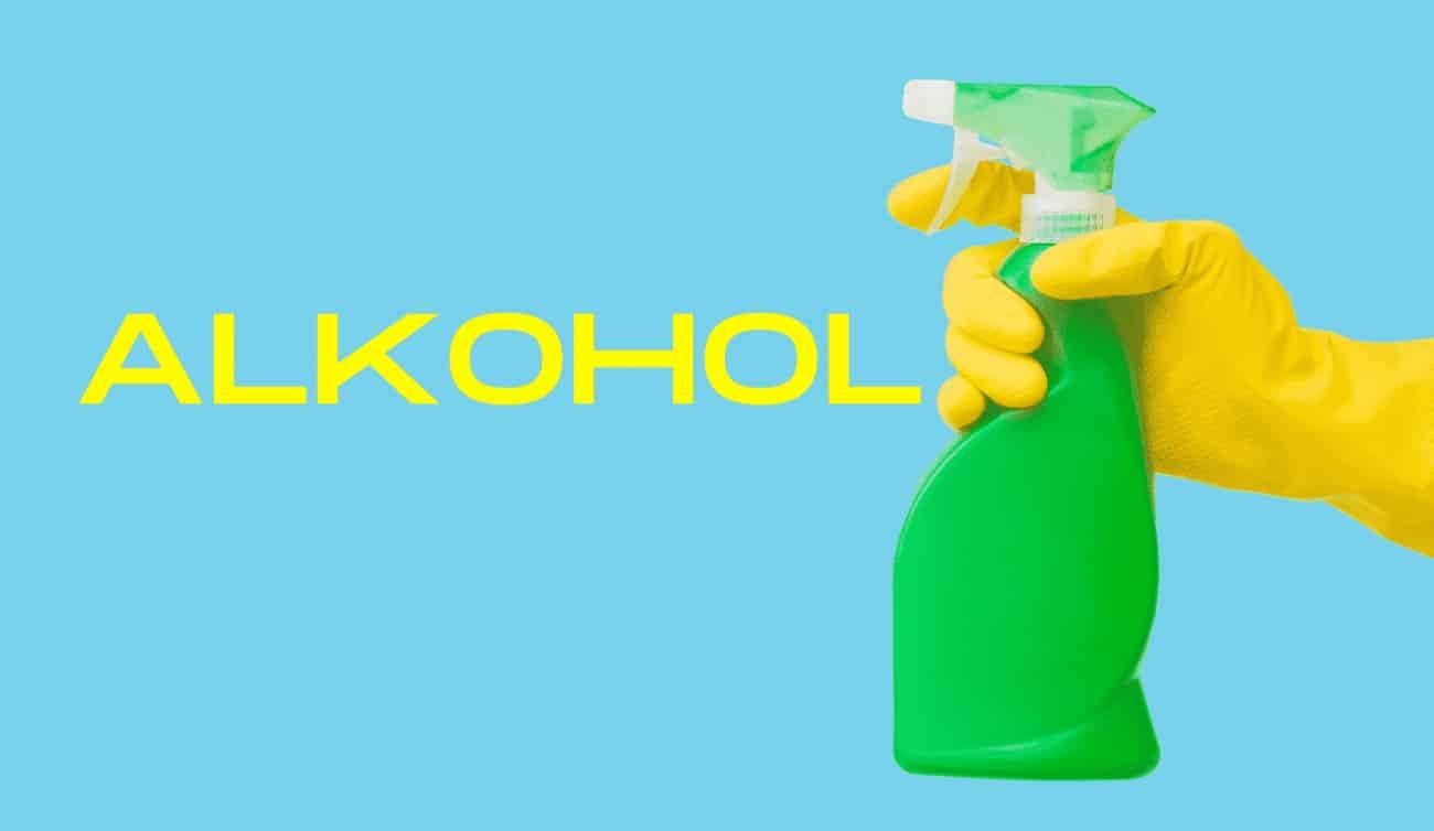 Alkohol im Haushalt