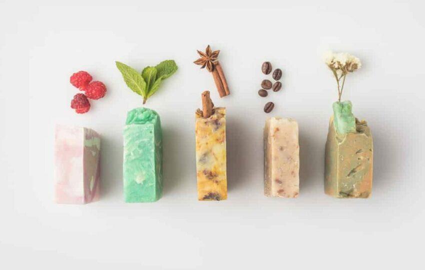 Festes Duschgel aus natürlichen Inhaltsstoffen