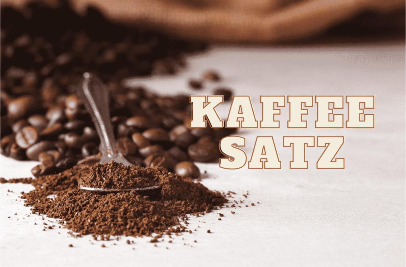 Kaffeesatz als Hausmittel