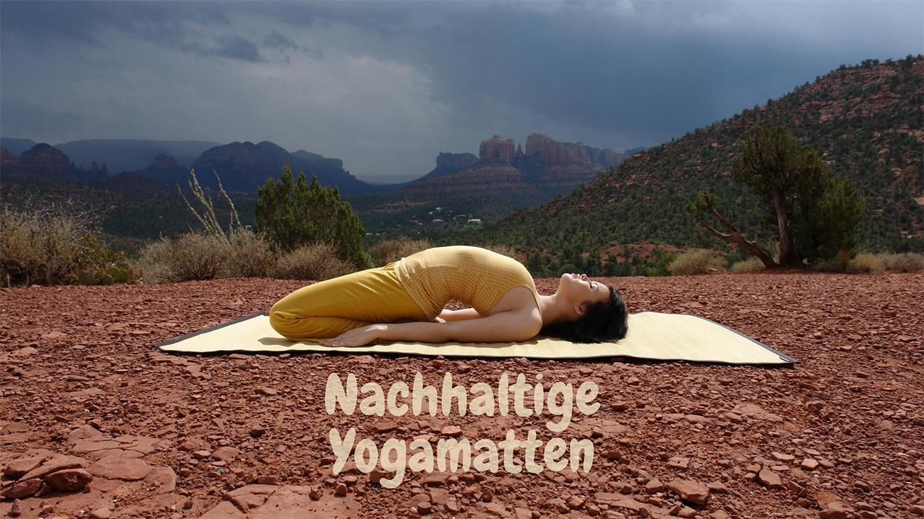 Nachhaltige Yogamatten