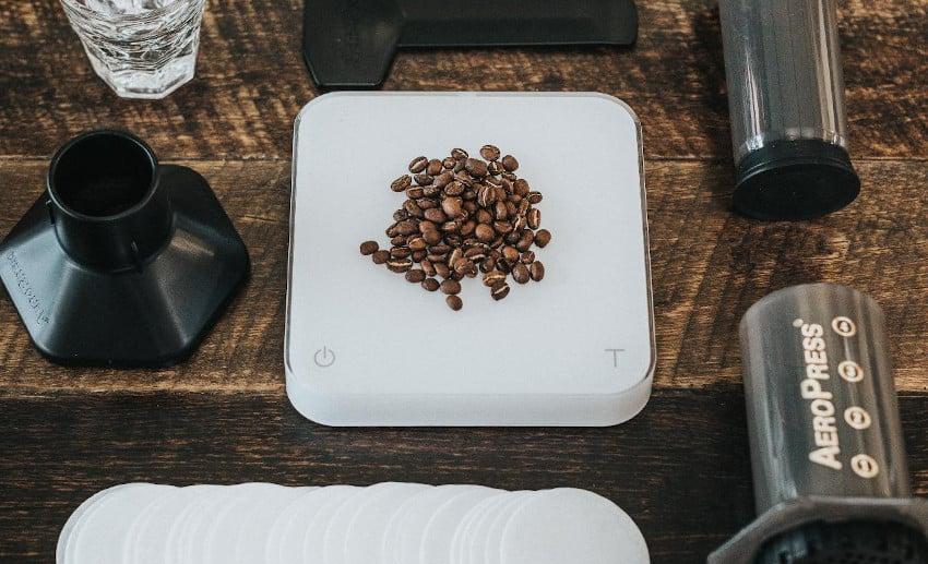 Kaffeeutensilien für Aeropress