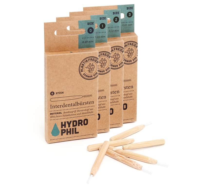 Nachhaltige Interdentalbürsten aus Bambus