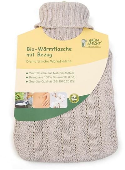 Bio Baumwolle Wärmflasche