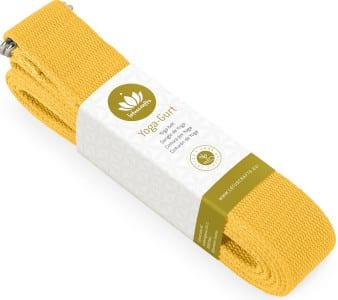Yogagurt in gelb