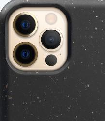 Nachhaltige Handyhülle in schwarz