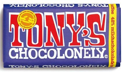 Tony's Schokolade mit Brezeln